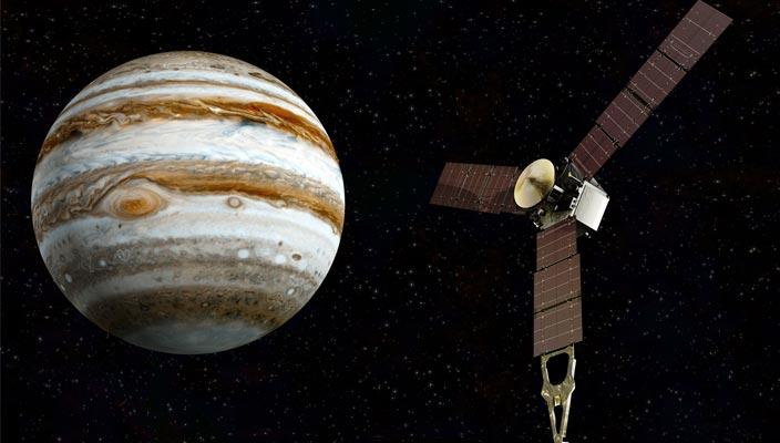 Зонд Juno достиг Юпитера