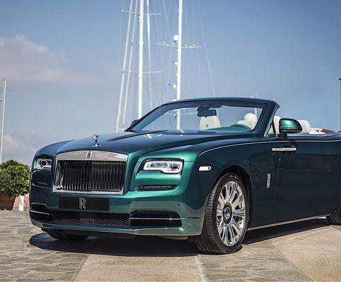 Кабриолет Rolls-Royce Porto Cervo Dawn
