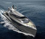Футуристическая яхта Stella от Red Yacht Design