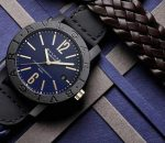 Стильные часы Bvlgari Carbon Gold