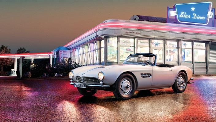 Родстер BMW 507 Элвиса Пресли