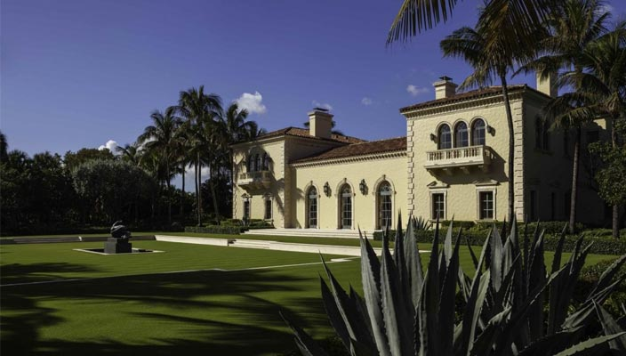 Дом Джеймса Кларка в Палм-Бич, США