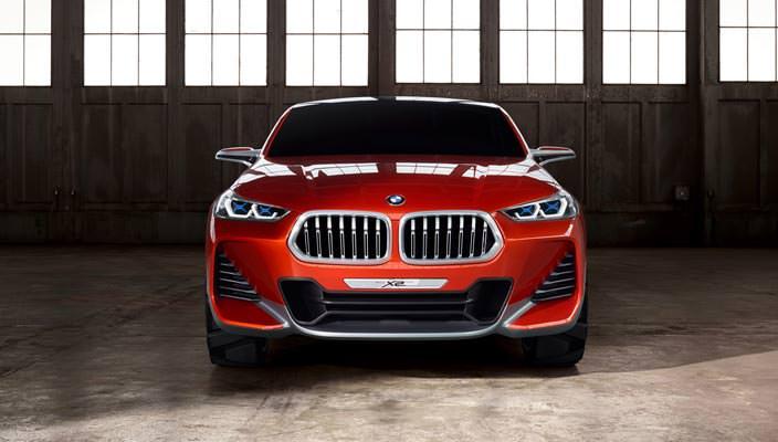 Премиальный компактный кроссовер BMW X2 Concept
