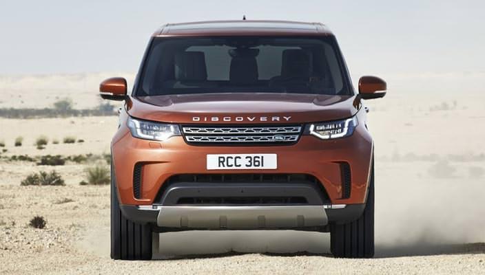 Новый внедорожник Land Rover Discovery 2017