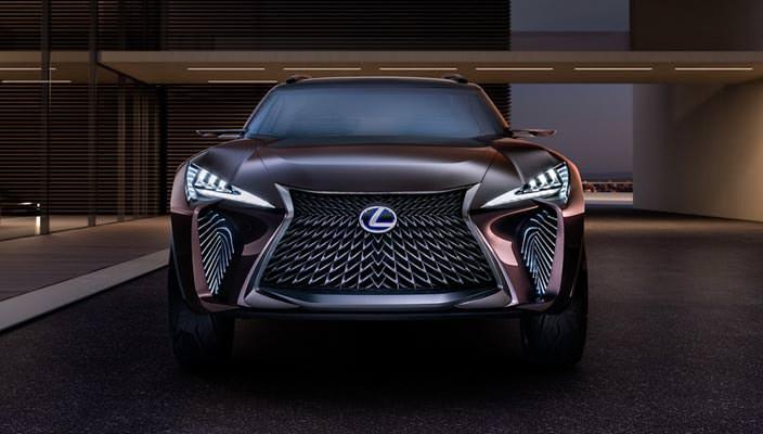 Самый маленький кроссовер Lexus UX Concept