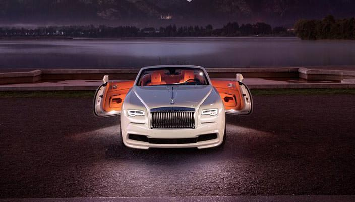 Тюнинг Rolls-Royce Dawn от SPOFEC