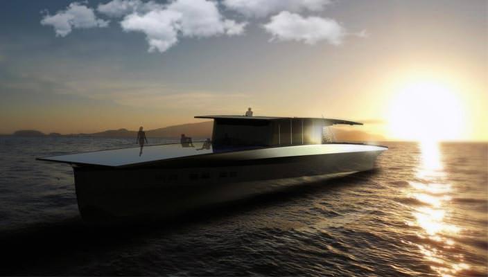 Яхта на солнечных батареях Solaris Global Cruiser