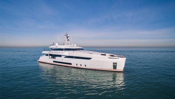 Wider 150 Genesi - самая тихая яхта в мире | фото, видео