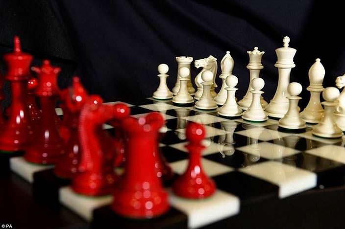 Шахматы из киносаги «Сумерки»