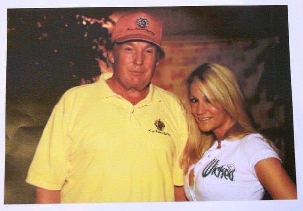 Дональд Трамп и Джессика Дрейк в 2006 году. Невада