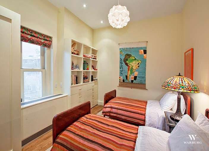Гостевая спальня в нью-йоркском пентхаусе