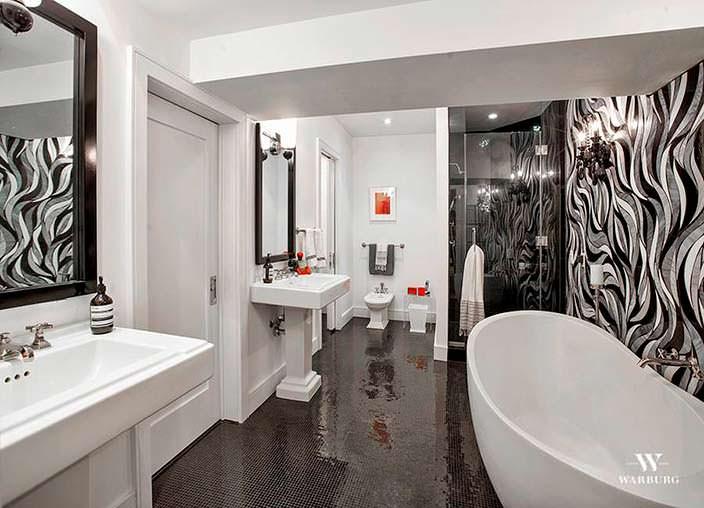 Ванная комната в пентхаусе за $35 млн