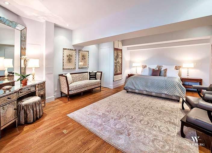 Спальня в нью-йоркском пентхаусе