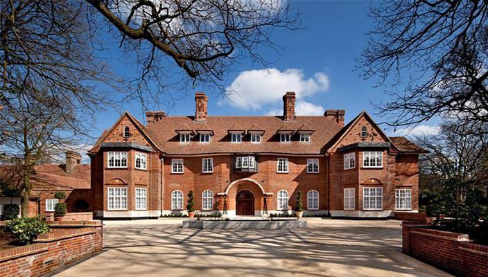 Дом Джастина Бибера в Лондоне