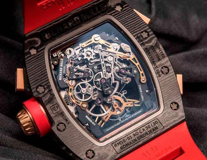 Часы-скелетоны Richard Mille RM 50-01 G-Sensor
