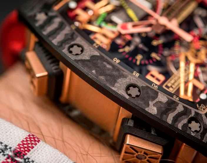 Сверхлегкие часы Richard Mille RM 50-01 G-Sensor
