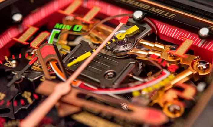 Часы со сложным механизмом Richard Mille RM 50-01 G-Sensor