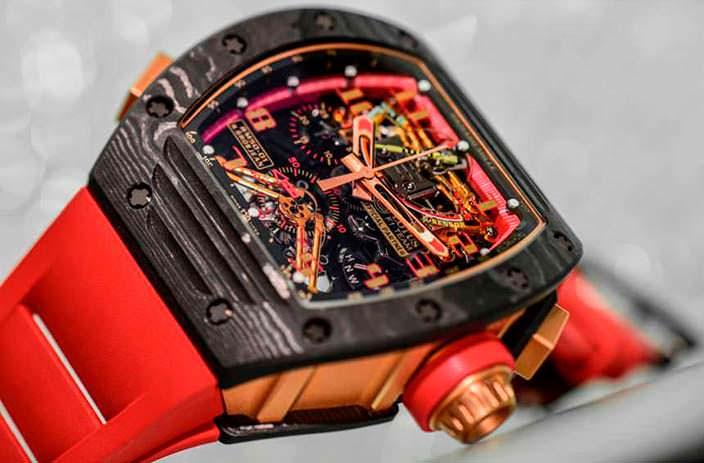 Ограниченные швейцарские часы Richard Mille RM 50-01 G-Sensor