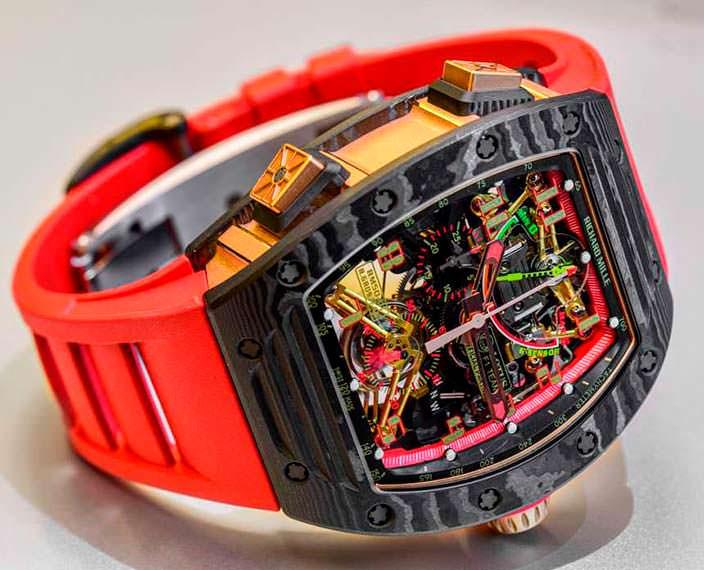 Швейцарские часы Richard Mille RM 50-01 G-Sensor