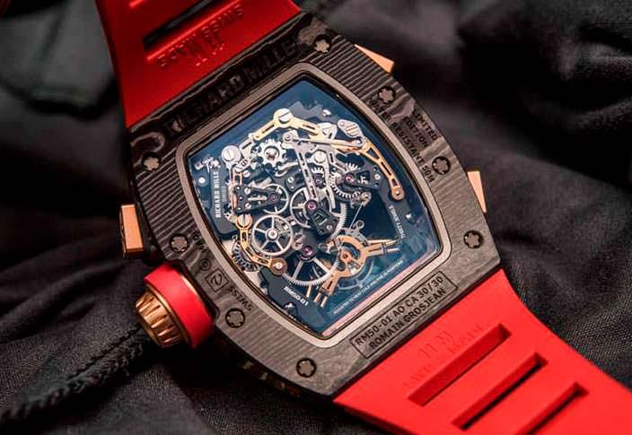 Швейцарские скелетоны Richard Mille RM 50-01 G-Sensor