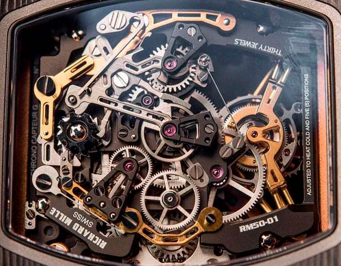 Фото   Часы с видимым механизмом от Richard Mille