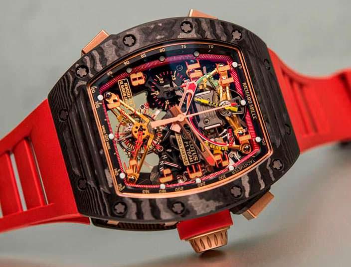 Часы с датчиком перегрузки от Richard Mille