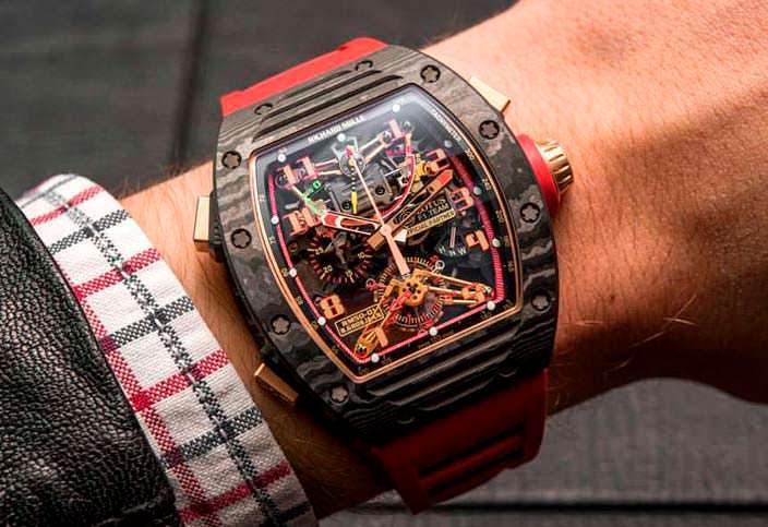 Часы для Формулы-1 от Richard Mille