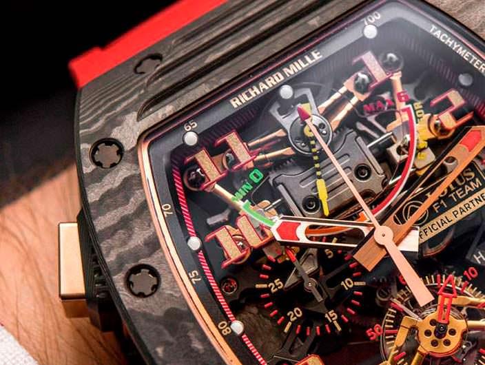 Часы за $888 000 от Richard Mille