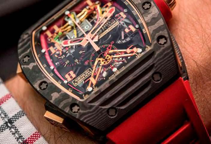 Карбоновые часы Richard Mille RM 50-01 G-Sensor
