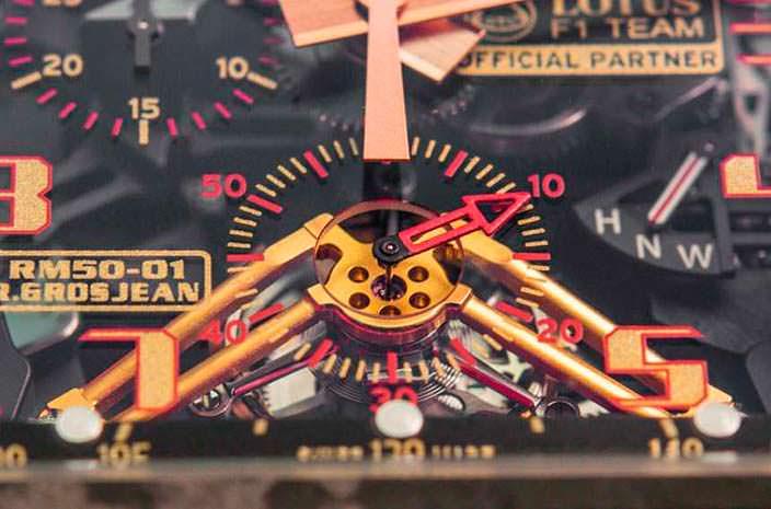 Сложная механика Richard Mille RM 50-01 G-Sensor