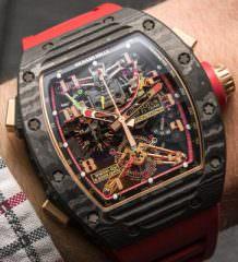 Швейцарские часы-скелетоны Richard Mille RM 50-01 G-Sensor