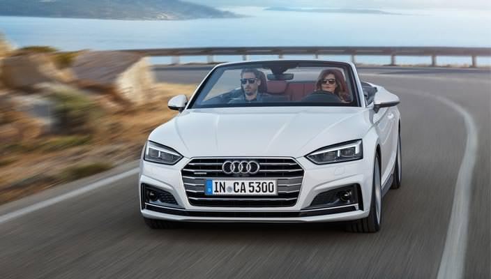 Новая Audi A5 Cabriolet