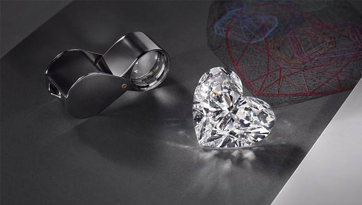 Крупнейший бриллиант в форме сердца Graff Venus