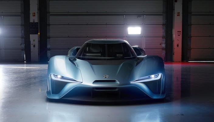 Китайский электрический суперкар Nio EP9