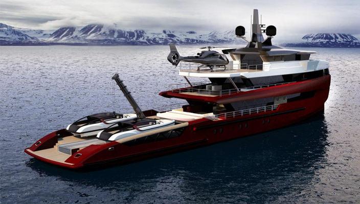 Исследовательское судно Tomahawk от Columbus Yachts