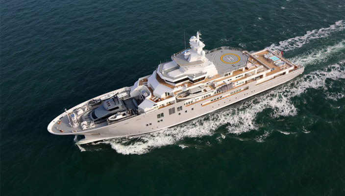 Исследовательская суперъяхта Ulysses от Kleven Maritime AS