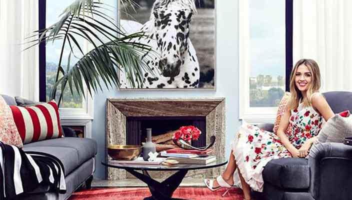 Дом Джессики Альбы в Беверли-Хиллз | цена аренды, фото