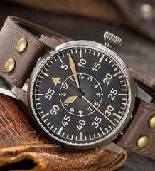 Часы в винтажном стиле Laco Flieger Erbstück   фото, цена