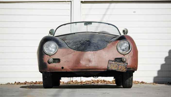 Ржавый автомобиль за $200 000. Спидстер Porsche 356 | фото