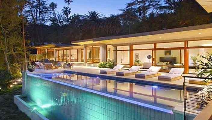 Дом Рики Мартина в Беверли-Хиллз | цена, фото, обзор дома