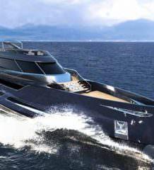 Элегантная яхта Attitude от Rossinavi | фото, проект, обзор