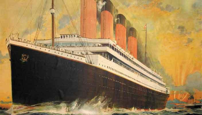 Началось строительство Титаника в Китае. Стоимость $145 млн