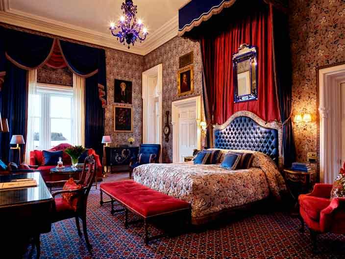 Номер отеля-замка Ashford Castle в Северной Ирландии