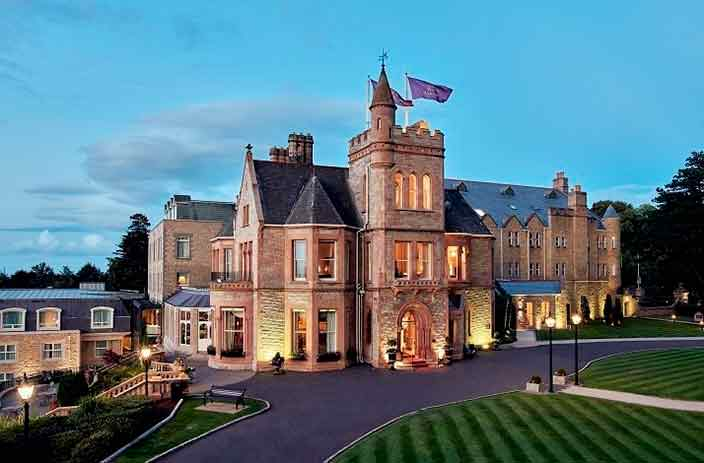 Королевские покои в отеле Culloden Estate & Spa, Белфаст