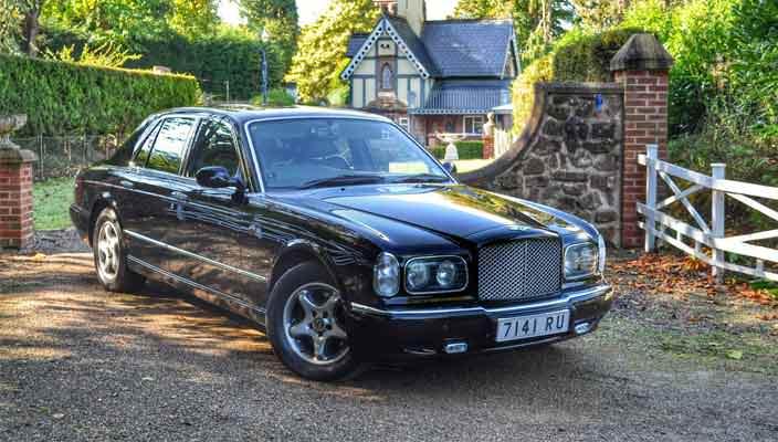 Bentley Arnage 1998 года уйдет с молотка | цена, фото, инфо