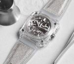 Новые сапфировые часы с турбийоном Bell & Ross | фото, цена
