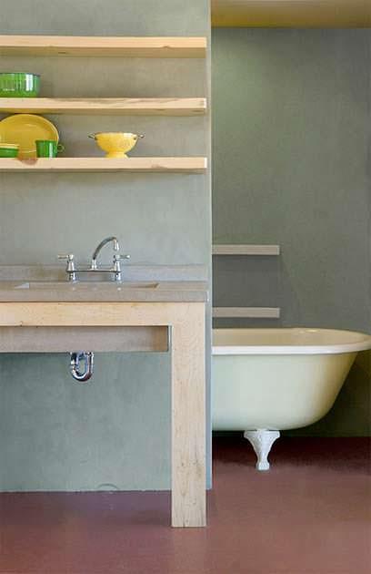 Деревенская ванная