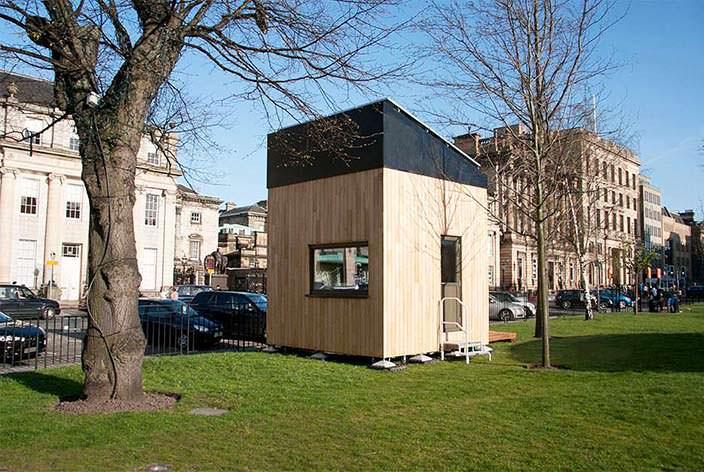 Дом 3 на 3 метра. Проект Cube