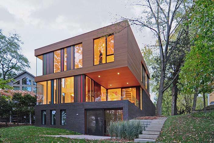 Дом для молодой семьи. Проект Johnsen Schmaling Architects