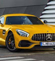 Обновленный суперкар Mercedes-AMG GT 2017 года | фото, видео